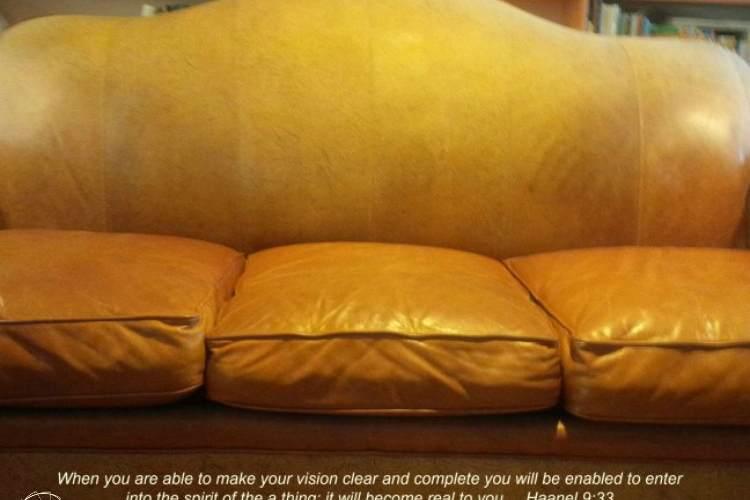 Manifesting Our Sofa